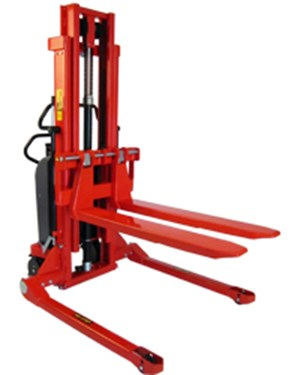 Stackers, Electric Logiflex - straddle legs