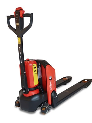 Lithium powered pallet truck – effortless movements. Capacity 1500 kg